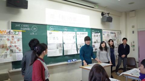 壁新聞から伝わる学生の主張