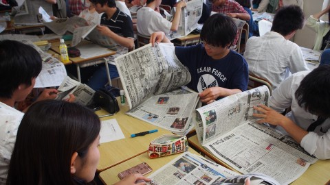 愛知教育大学 新聞学習 講座
