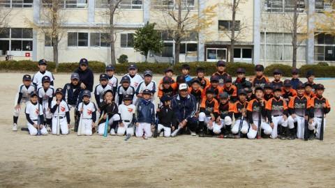 元PL学園中村順司監督の野球教室開催